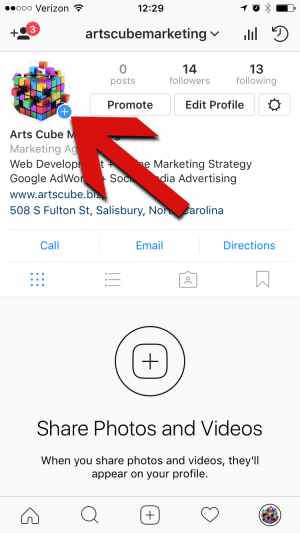 How to add videos to instagram story arts cube instagram click ccuart Image collections